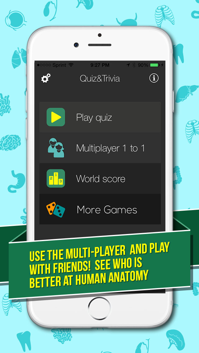 Anatomy Quiz App Games Med Brain Apps