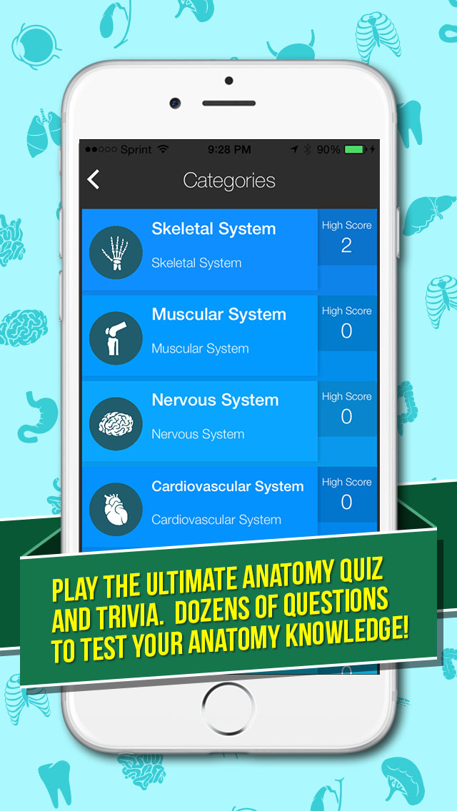 Ultimate Anatomy Quiz and Trivia – App For Medical Students And